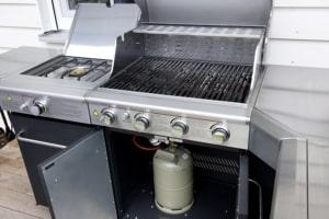 Gasflasche Gasgrill Küche