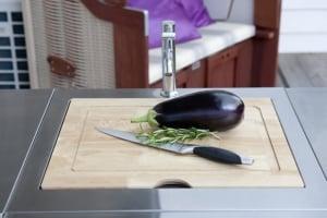 Gemüse Brett Gasgrillküche